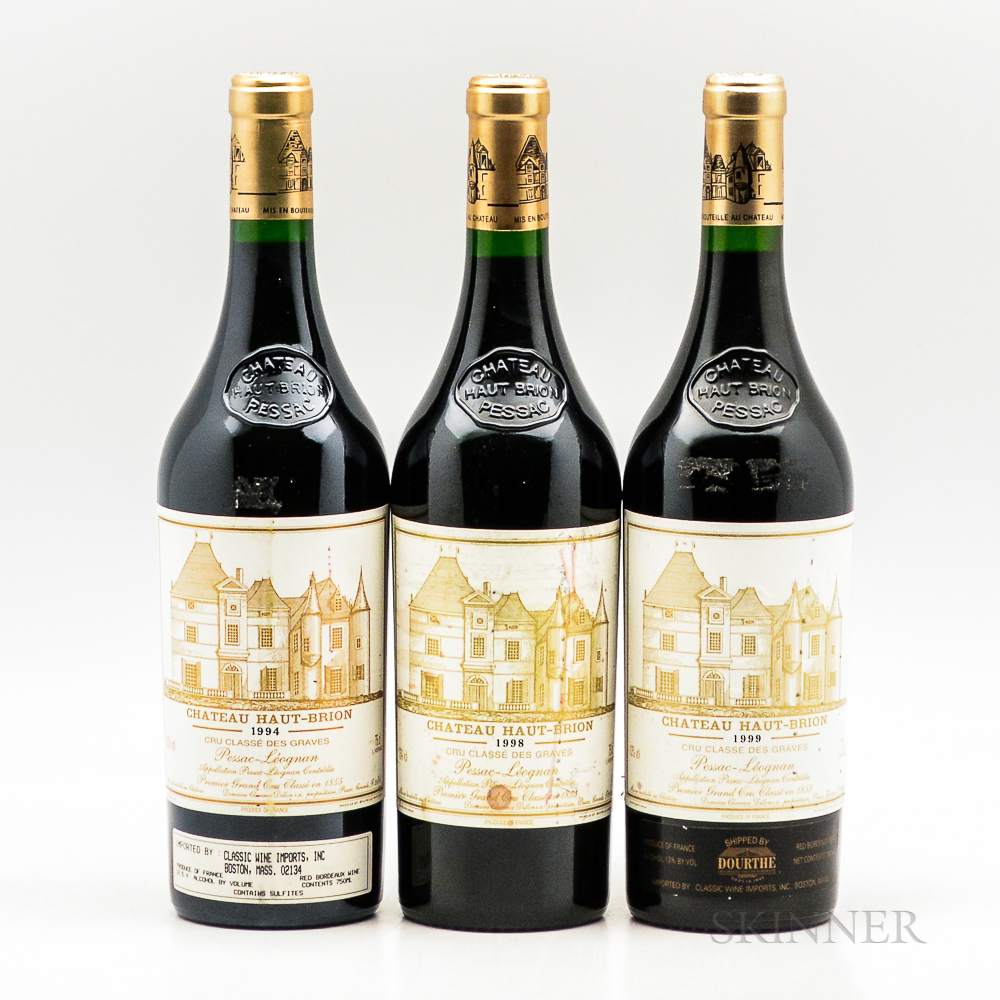 Chateau Haut Brion, 3 bottles