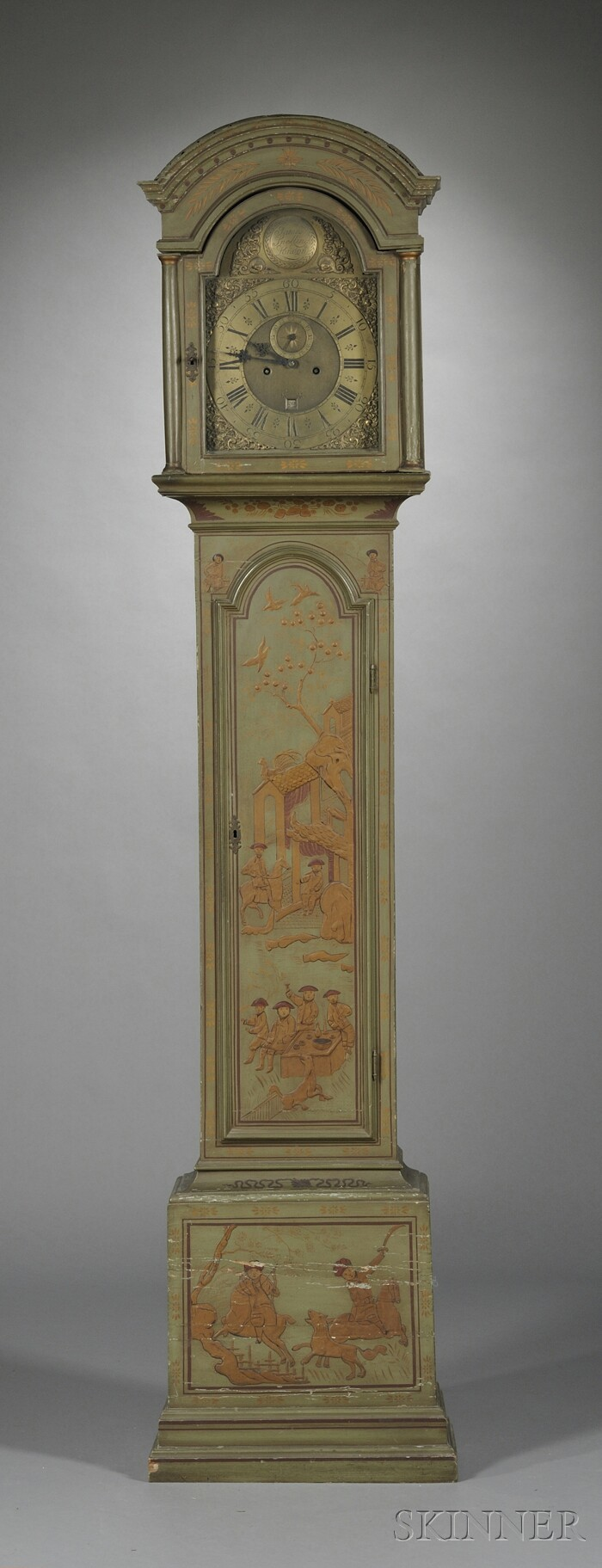 James Snelling Eight-day Long Case Clock