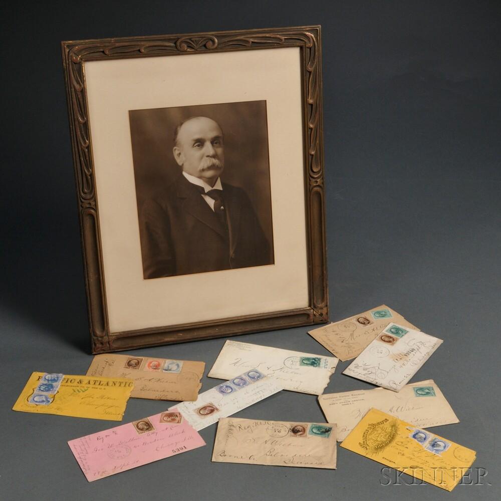 California and Far West Correspondence, 1870s-1890s, Wilbur Family, of Illinois.