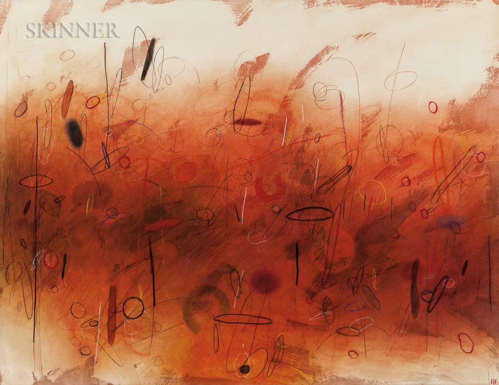 Emmi Whitehorse (American, b. 1957)      Rushing Water Series