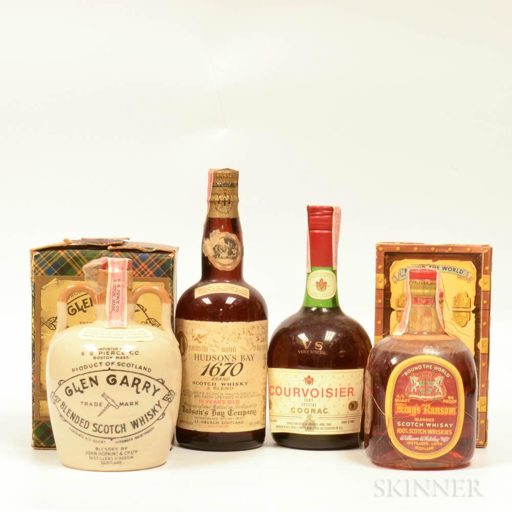 Mixed Spirits, 3 4/5 quart bottles (2 oc) 1 750ml bottle