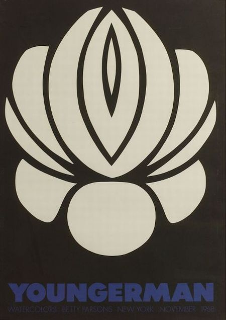 Jack Youngerman (American, b. 1926)  Betty Parsons Gallery Exhibition Poster.