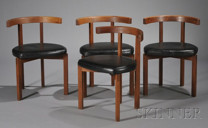 Four Peter Hvidt Armchairs