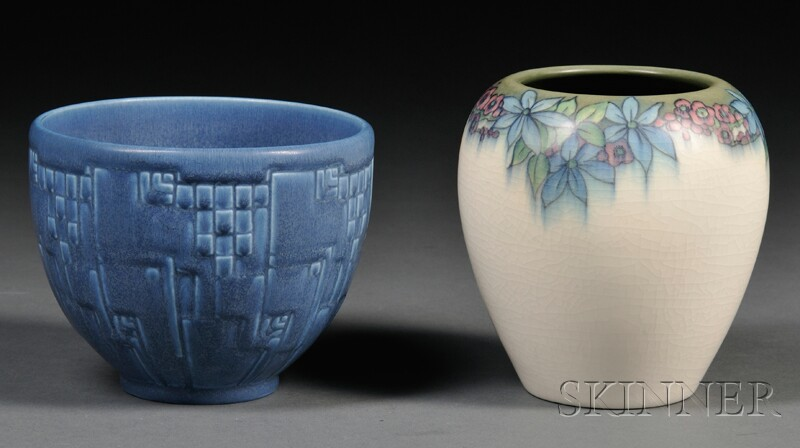 Rookwood Vase and Bowl