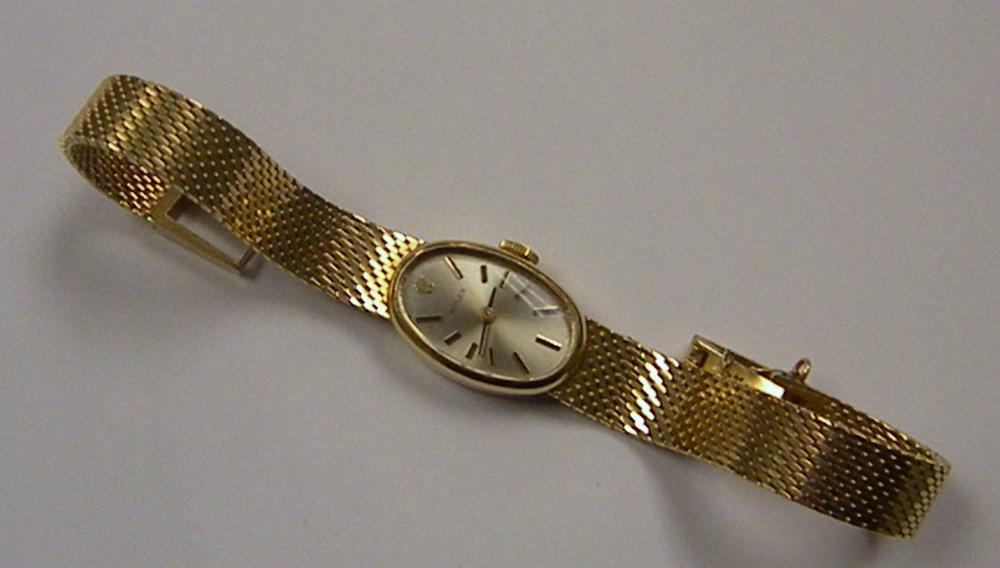 Lady's 14kt Gold Rolex Wristwatch