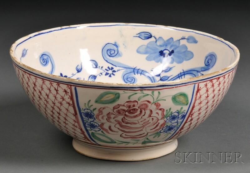 Tin-glazed Earthenware Bowl