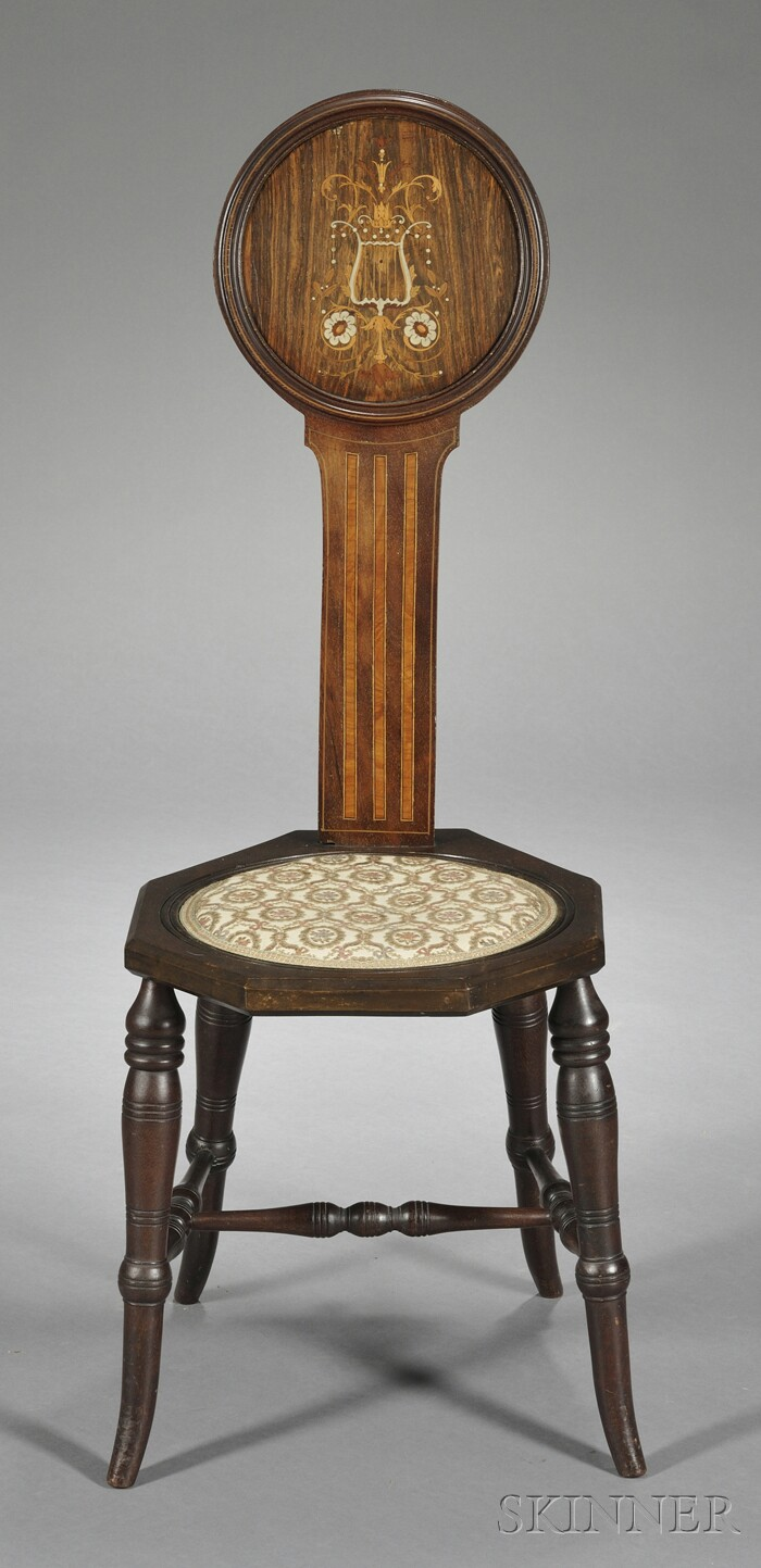Regency-style Spinning Chair