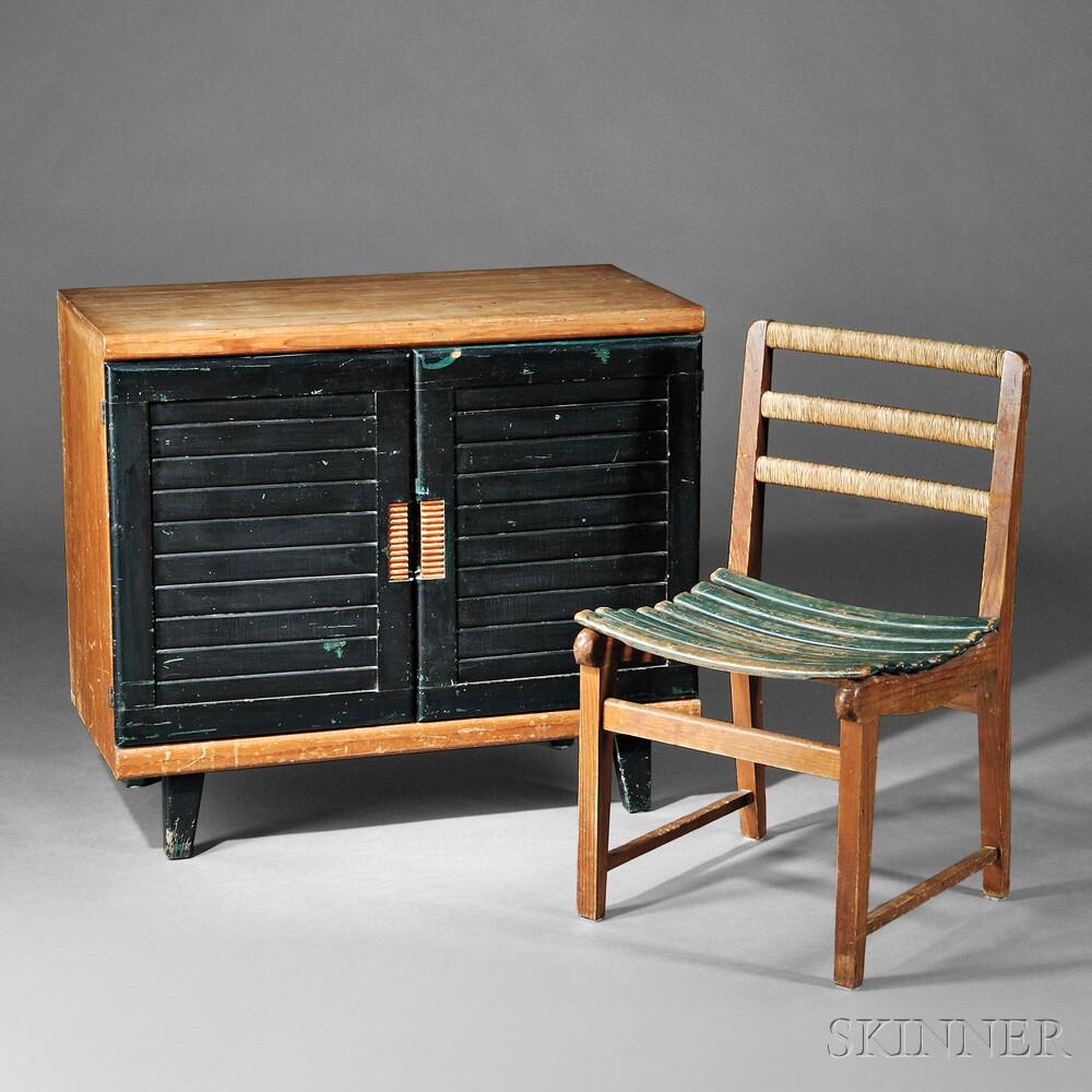 Michael Van Buren For Domus Cabinet And Chair ...