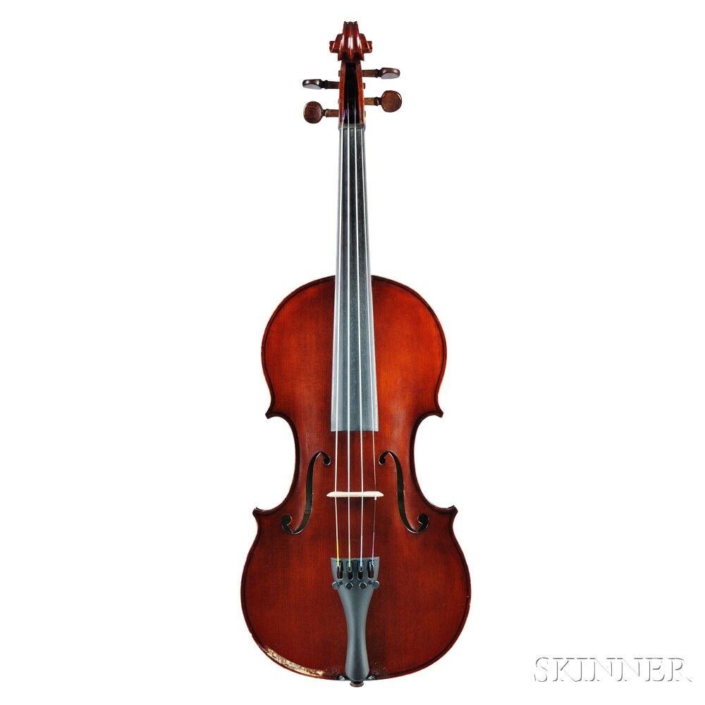 Canadian Violin, E.W. Shrubsole, Sault Ste. Marie, 1965