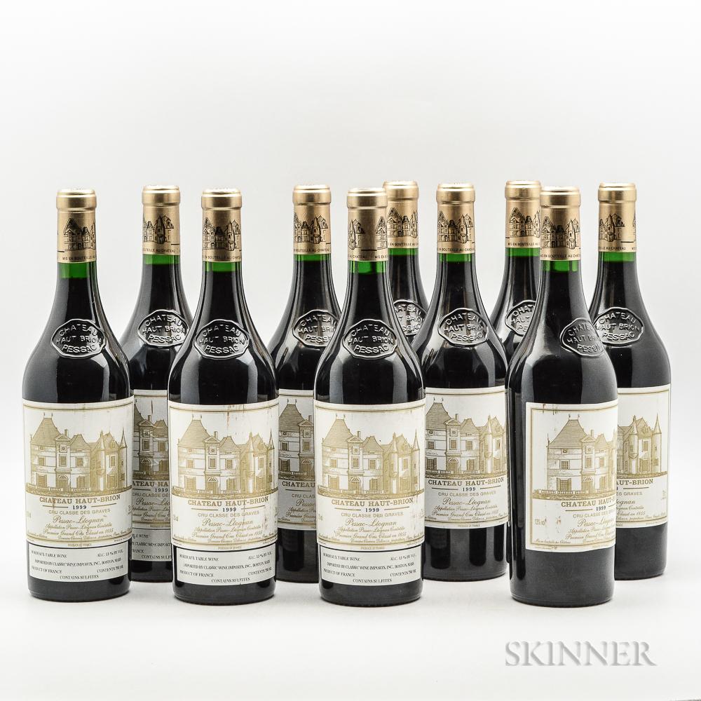 Chateau Haut Brion 1999, 10 bottles