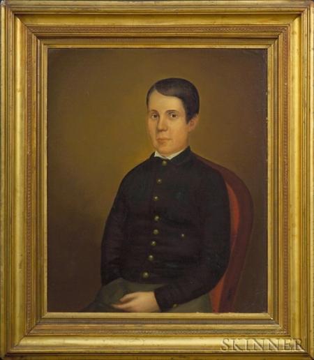 Attributed to Chester Harding (Paris, Kentucky, St. Louis, Boston, Washington, D.C., and Northampton, Massachusetts, 1792-1866)  Portra
