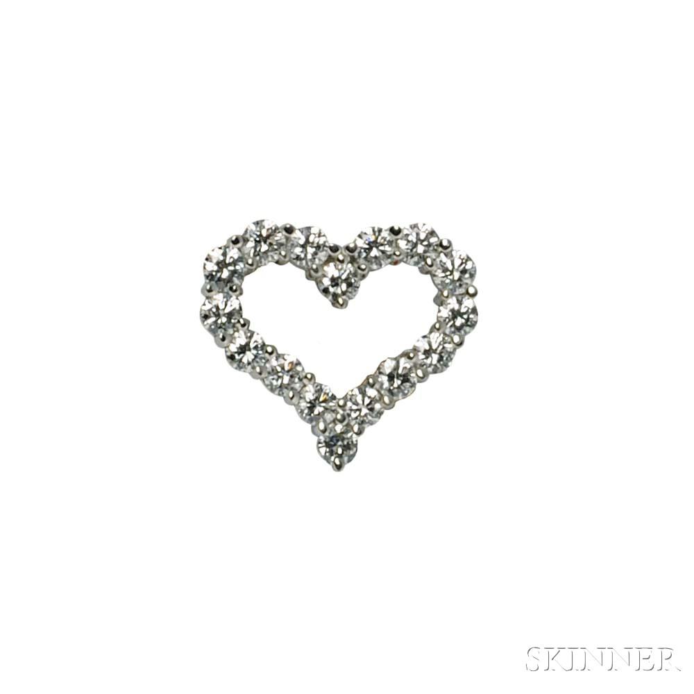 Platinum and Diamond Brooch, Tiffany & Co.