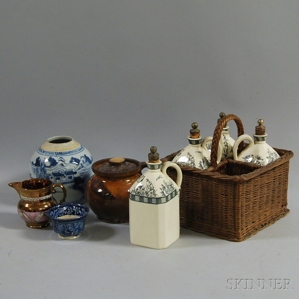 Eight Ceramic Vessels