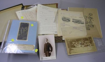 Collection of 19th and Early 20th Century Bicycle and Bicycling Related Letterheads, Billheads, and Ephemera.