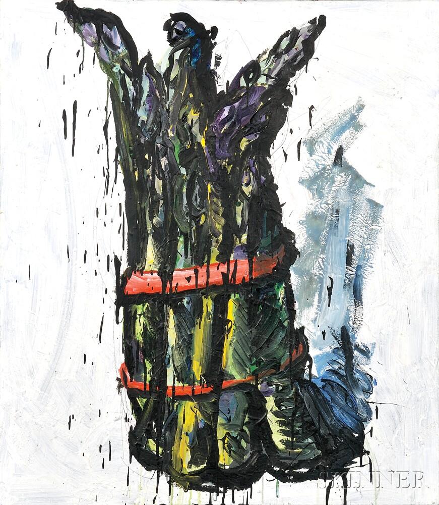 Tom Christopher (American, b. 1952)      Asparagus