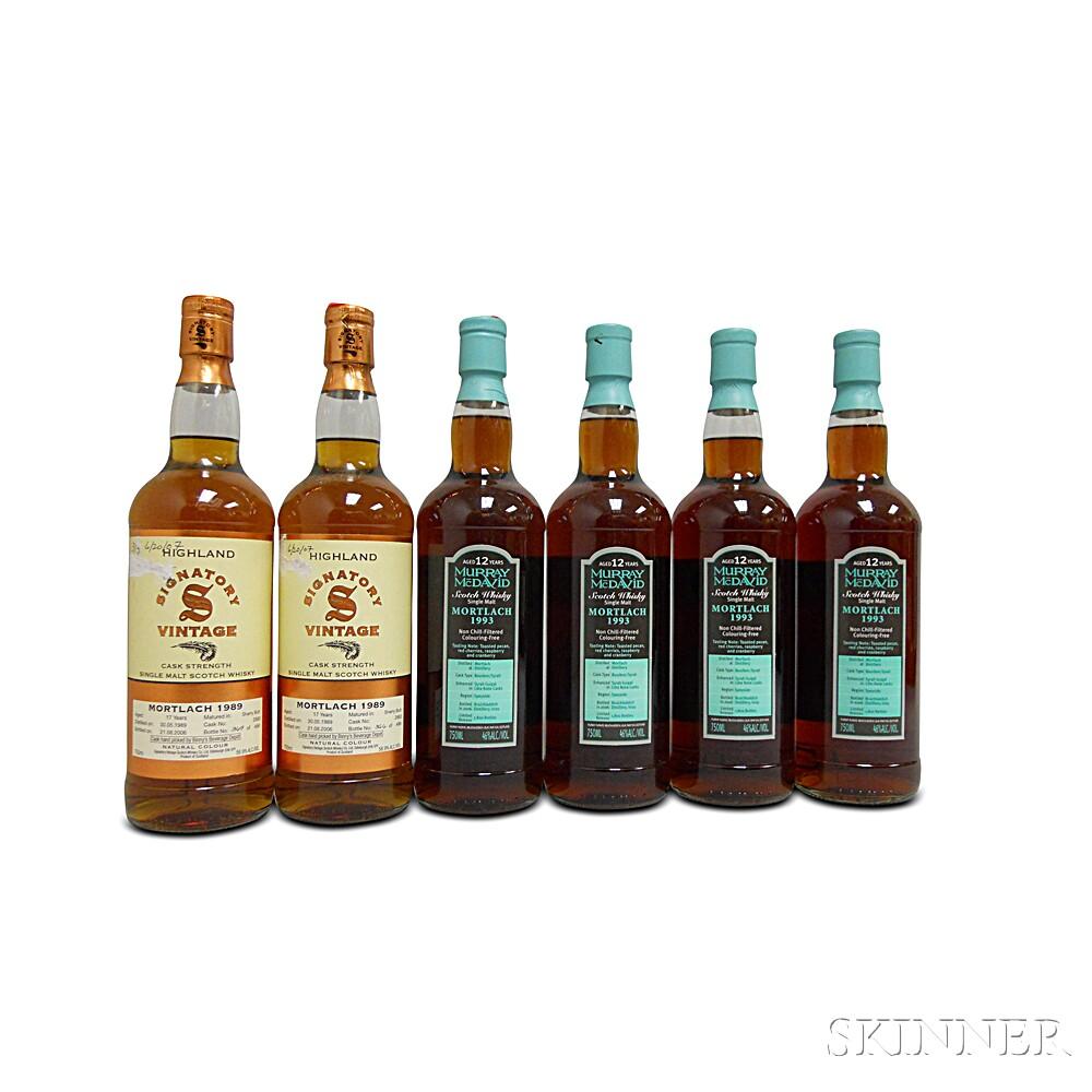 Mixed Mortlach, 6 750ml bottles