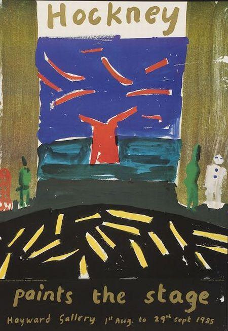 David Hockney (British, b. 1937)  Hockney Paints the Stage