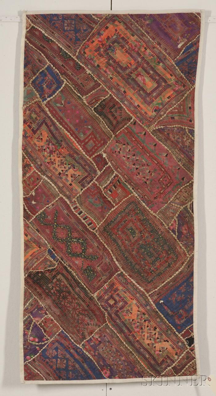 India Textile Fragment