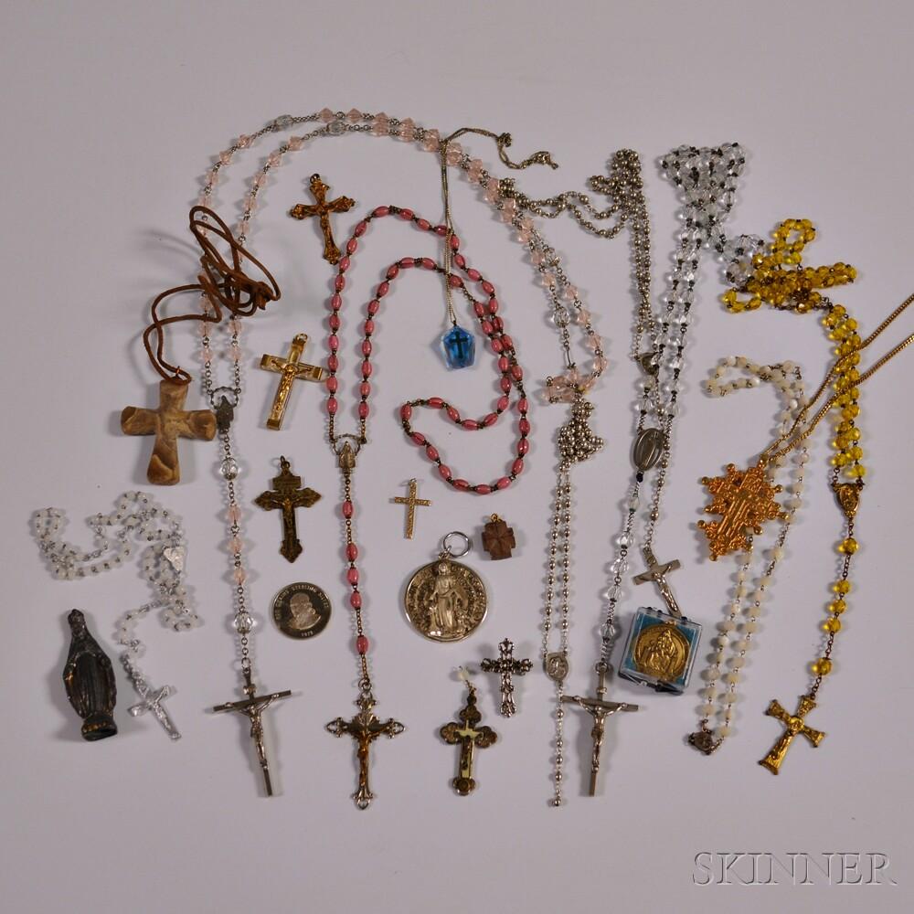 Group of Religious Jewelry