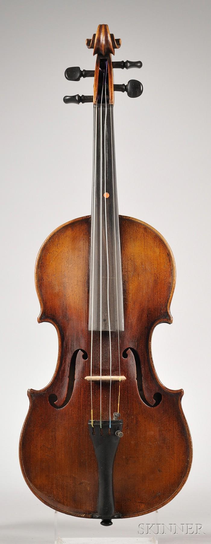 German Violin, c. 1900