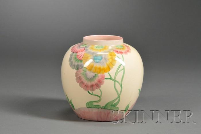 Clarice Cliff Viscaria Design Vase