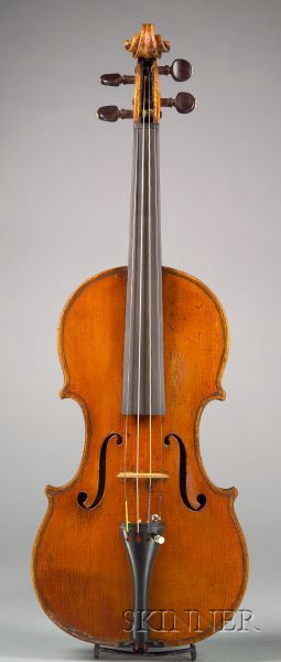 Italian Violin, Gagliano Family, Naples, c. 1820