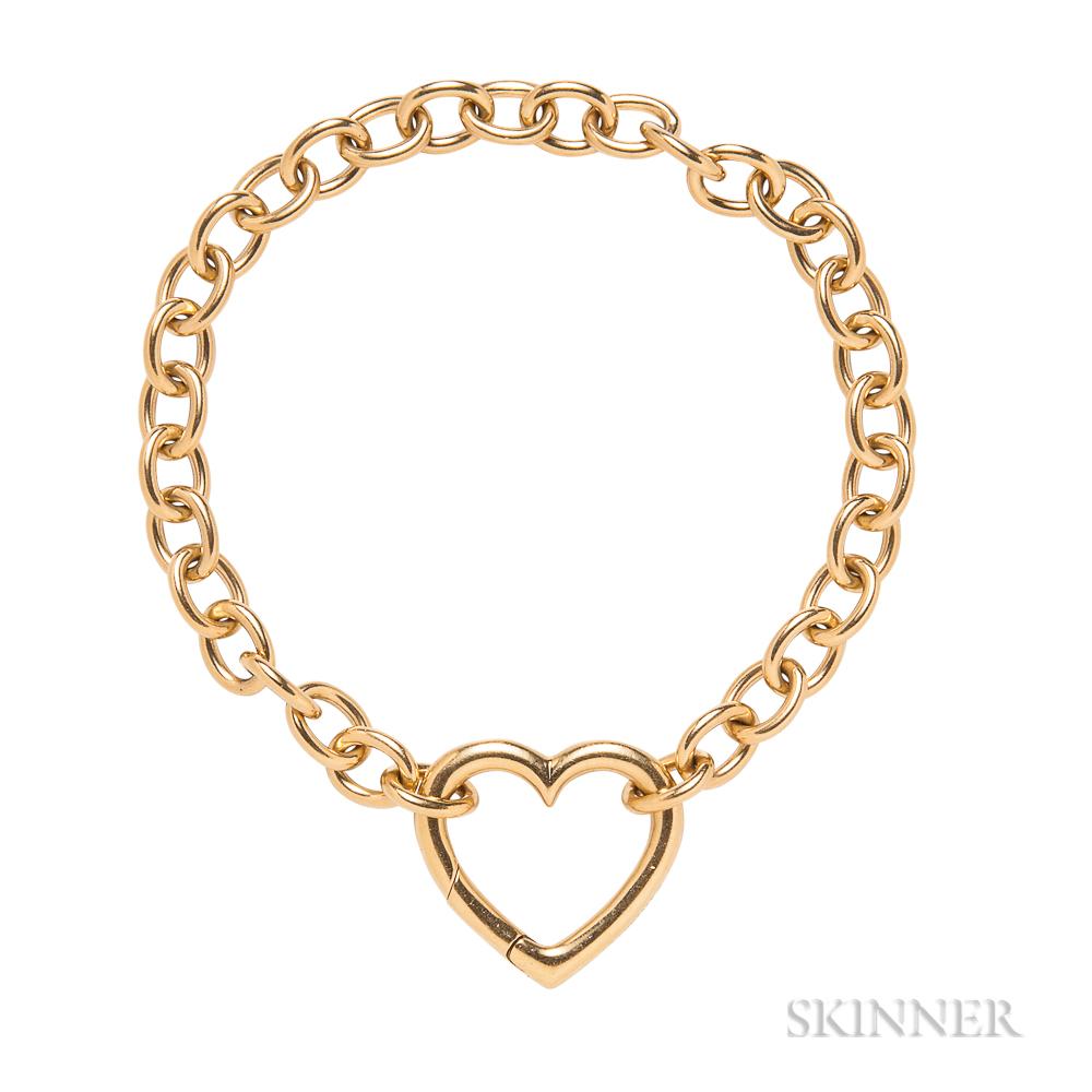 18kt Gold Bracelet, Tiffany & Co.