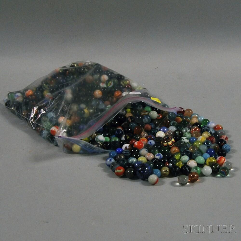 Large Group of Vintage MarblesLarge Group of Vintage Marbles