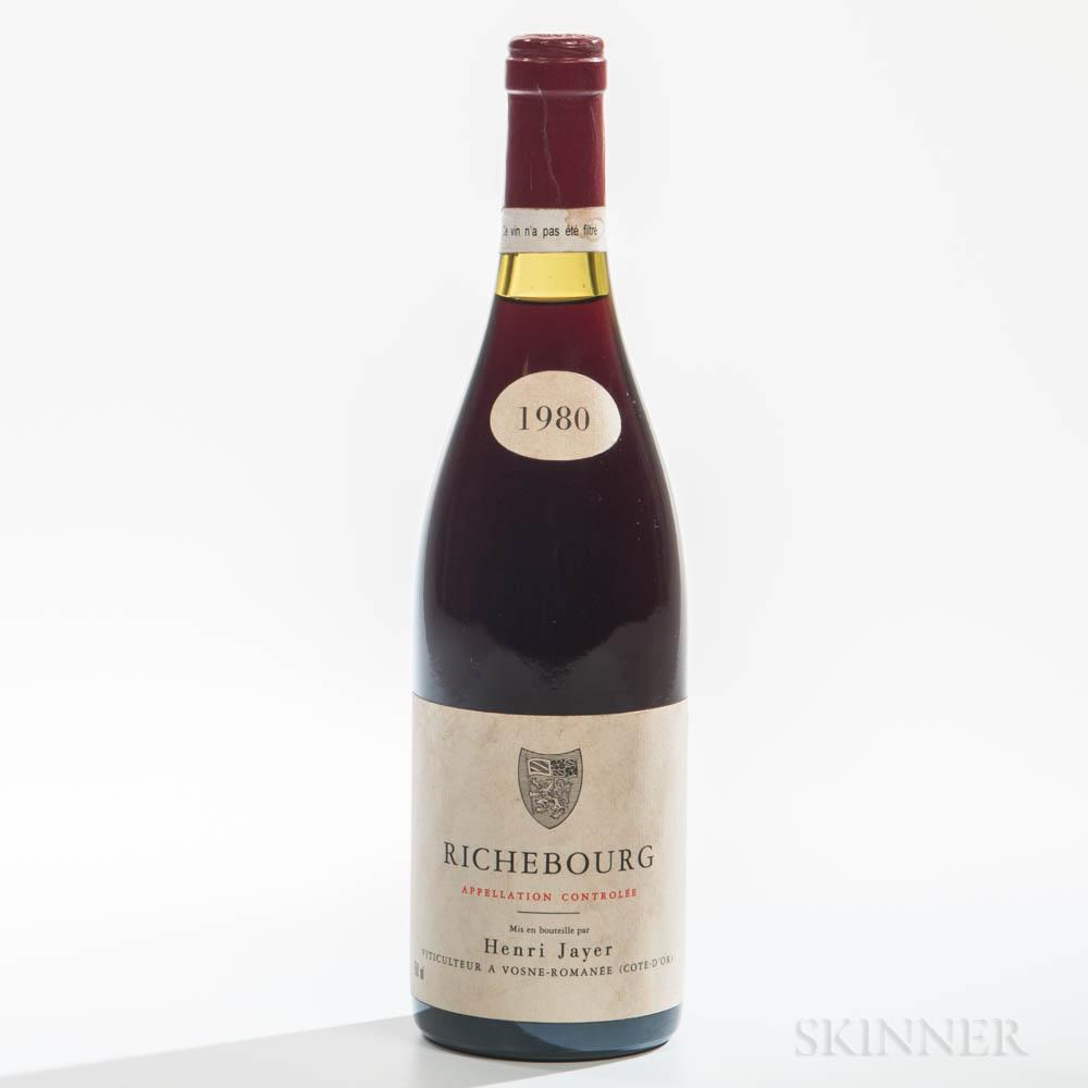 H. Jayer Richebourg 1980, 1 bottle