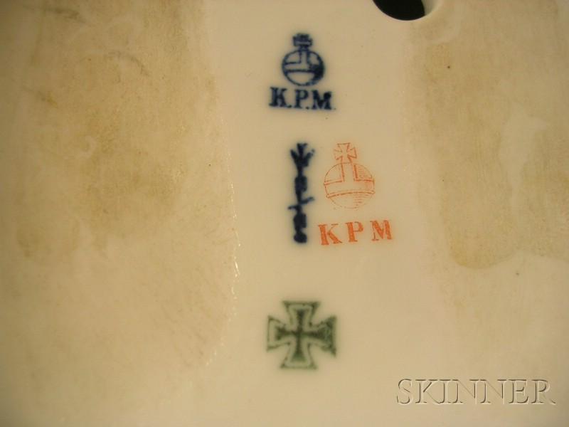 KPM Porcelain Figural Group
