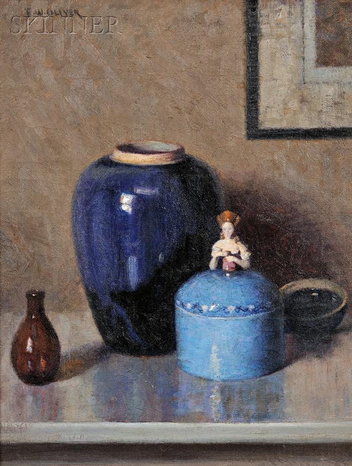 Frederick W. Oliver (American, b. 1876)      Still Life