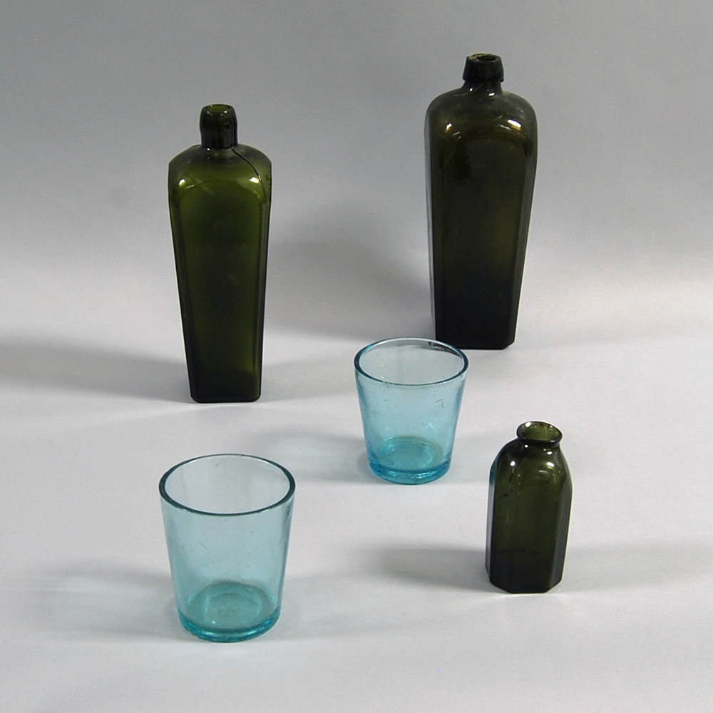 Five Early Glass Vessels