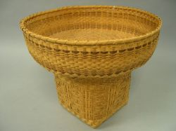 Cherokee Agnes L. Welch Plaited Basket