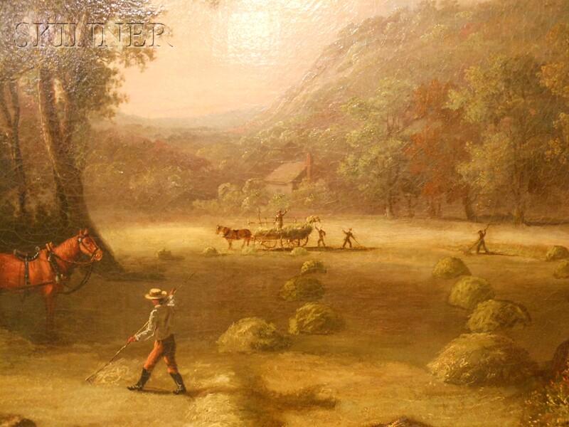 John White Allen Scott (American, 1815-1907)      Haying