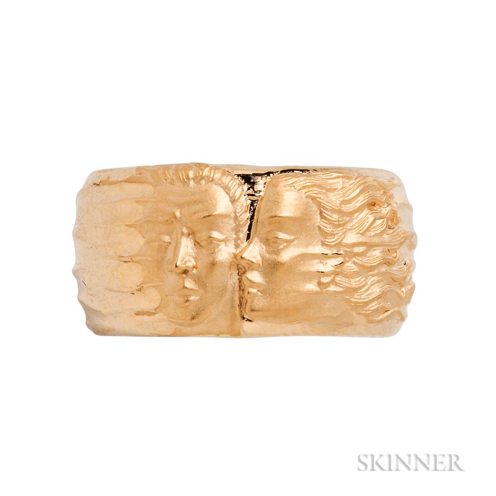 18kt Gold Figural Ring, Carrera y Carrera