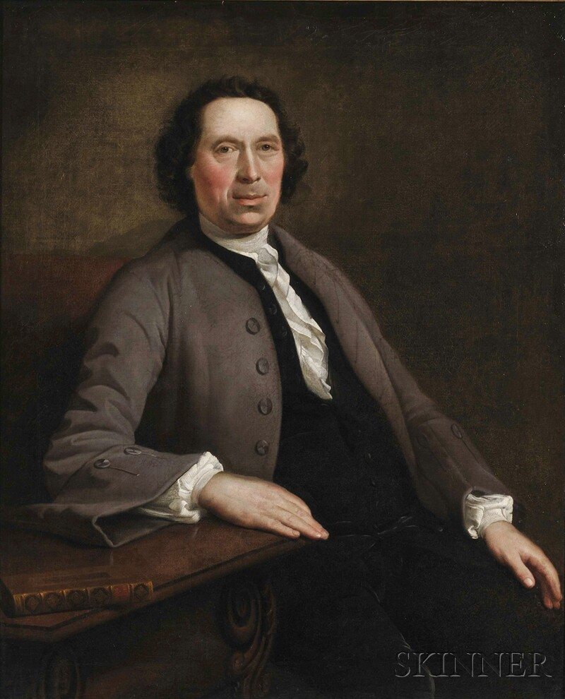 Anglo/American School, 18th Century Style      Portrait of a Gentleman