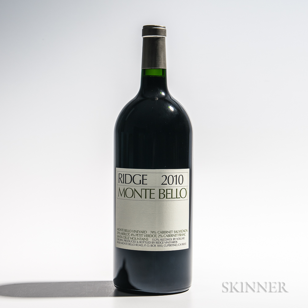 Ridge Monte Bello 2010, 1 3 liter bottle