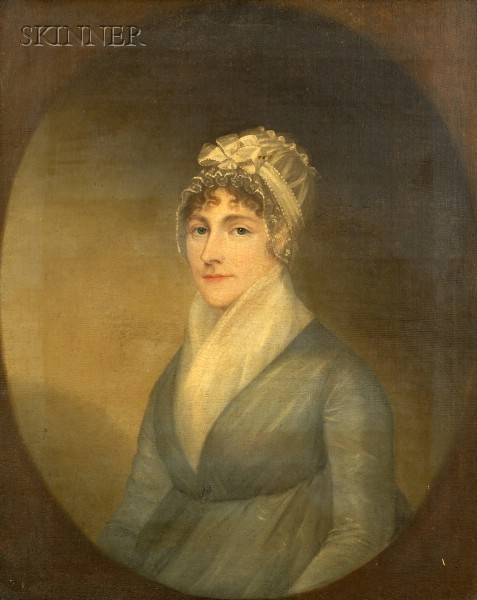 Anglo/American School, 19th Century      Lady in Green