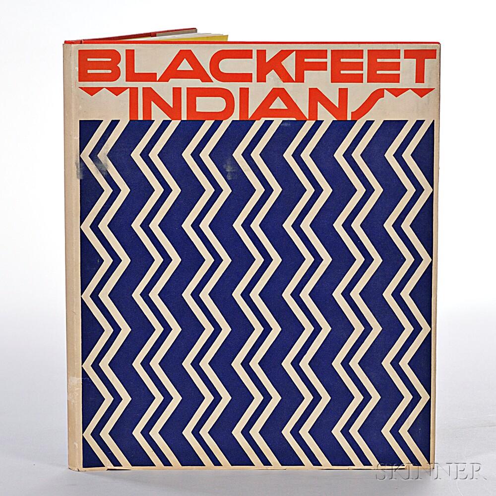 Linderman, Frank Bird (1869-1938), illus. Winold Reiss (1886-1953)   Blackfeet Indians