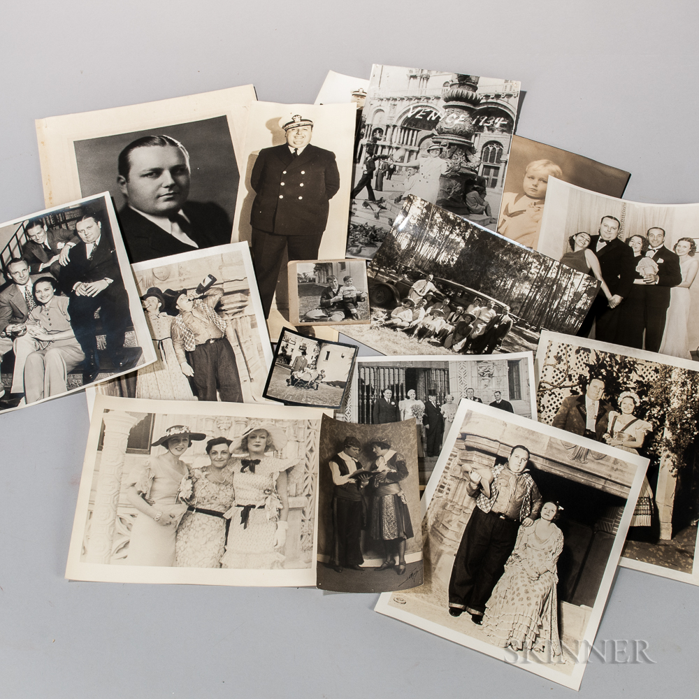 Hearst, George Randolph (1904-1972) and Lorna Hearst (1902-1991) Large Archive of Photographs, 1930s.