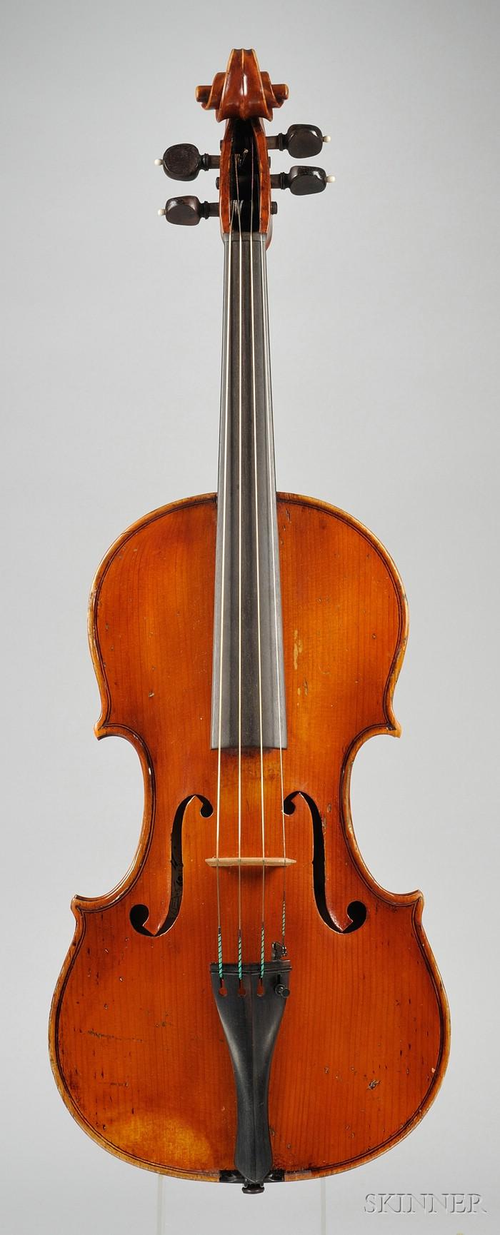 Italian Viola, Romeo Antoniazzi, Cremona, 1909