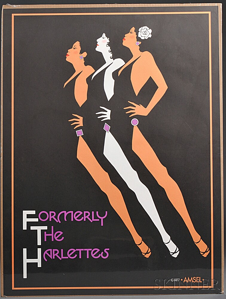 Posters, 20th Century, Approximately Twenty-five.