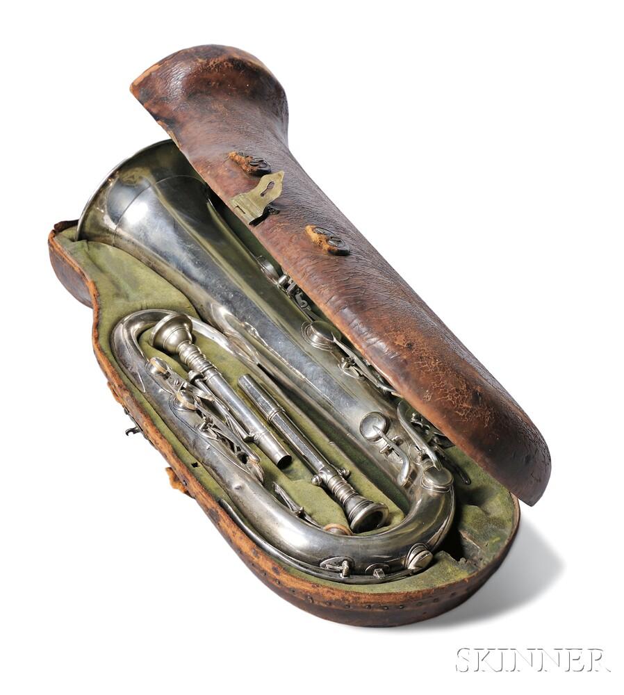 American Keyed Bugle, Henry Sibley, Boston, 1840