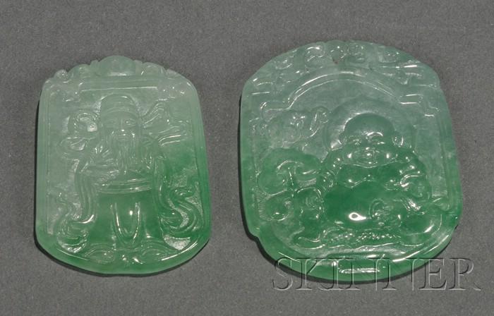 Two Jade Pendants