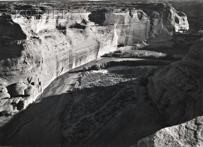 Paul Caponigro (American, b. 1932)      Canyon de Chelly