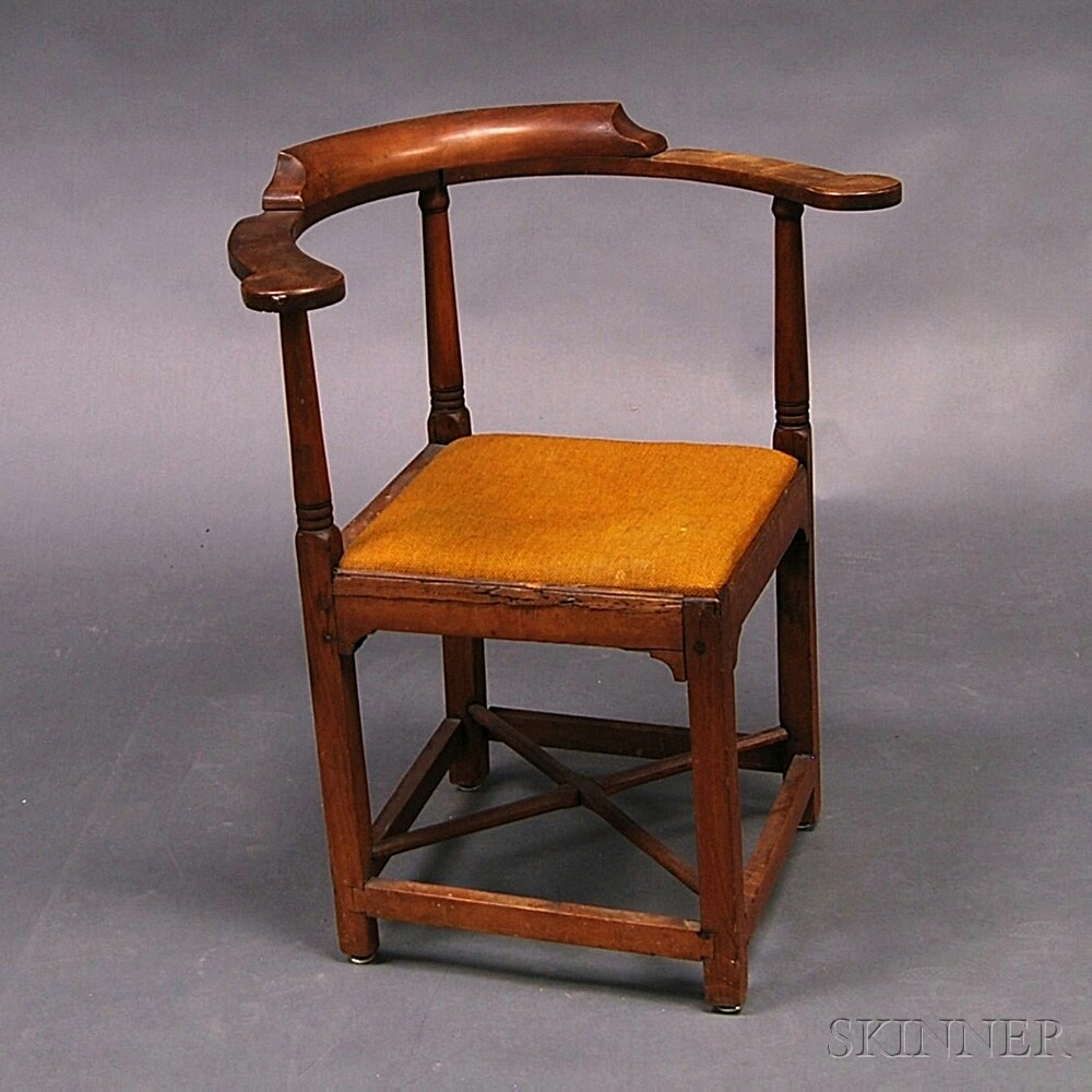 Country Maple Corner Chair