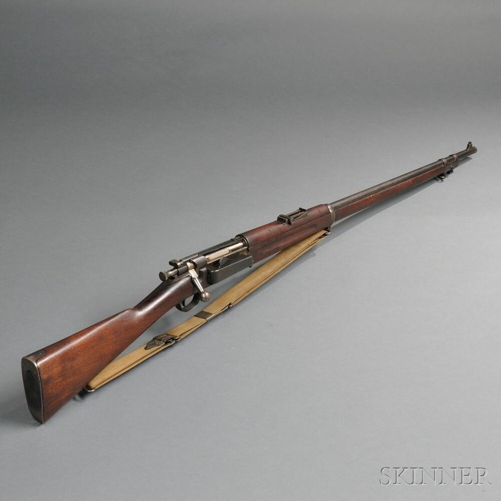 Model 1896 Krag Bolt Action Rifle