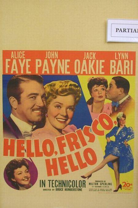 Ten 1930s-40s Cinema Window Cards