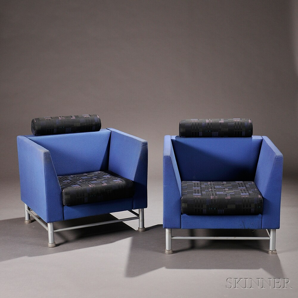Pair of Ettore Sottsass for Knoll Eastside Chairs | Sale Number ... for Ettore Sottsass Sofa  83fiz