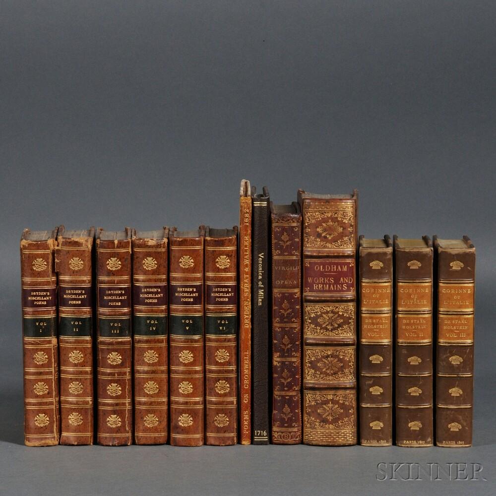 Early Books, Decorative Bindings, Thirteen Volumes: